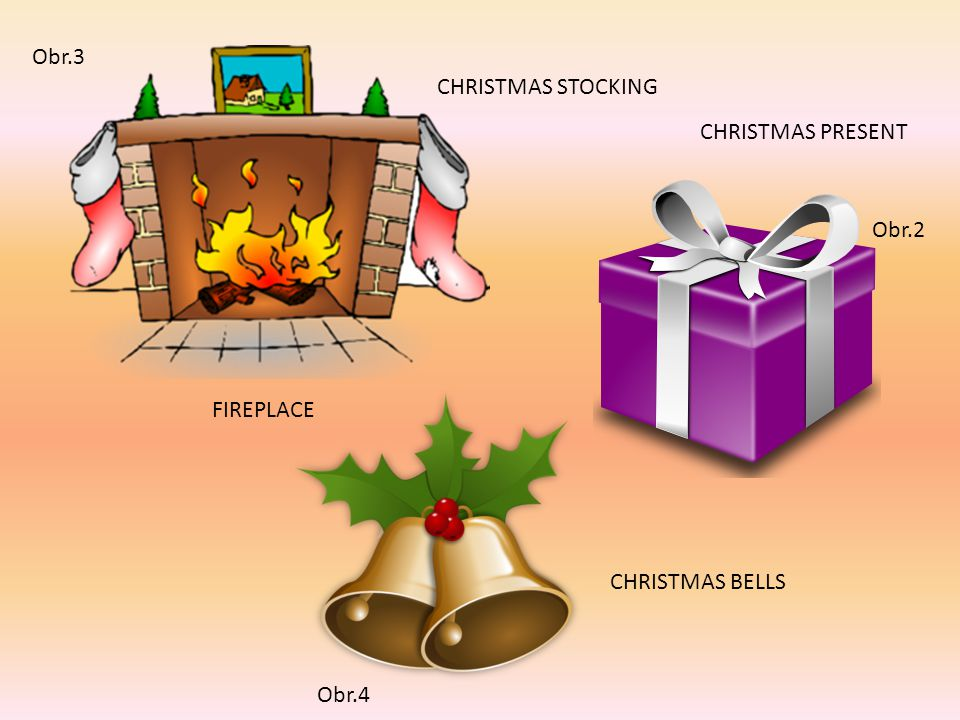 Doplň správné slovíčko: Christmas tree Christmas ball Candy Cane Santa Claus Christmas candle