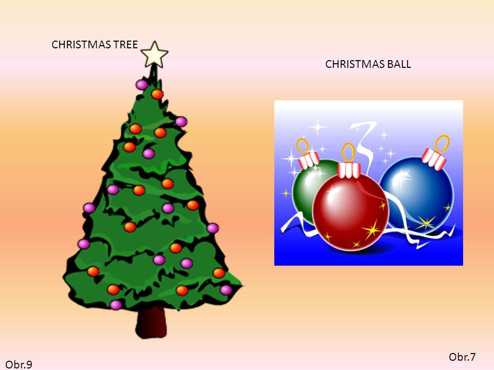 Obr.10 CHRISTMAS CAROLERS Obr.8 CHRISTMAS CANDLE