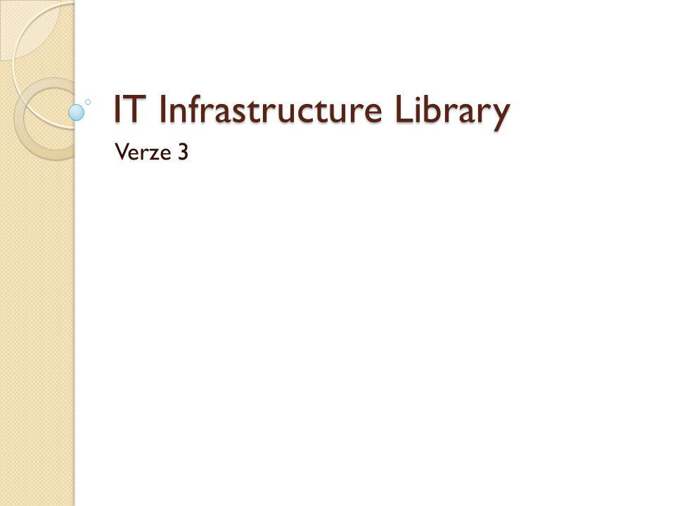 Service strategy Primárně určeno pro IT ředitele Každý by měl mít povědomí, jak se tato rozhodnutí dělají Tato kniha poskytuje celkový přehled o službách