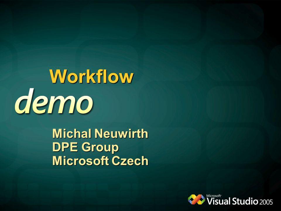 Workflow Michal Neuwirth DPE Group Microsoft Czech