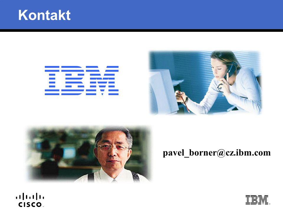 Kontakt pavel_borner@cz.ibm.com