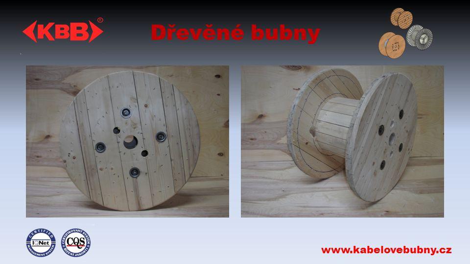 Dřevěné bubny www.kabelovebubny.cz