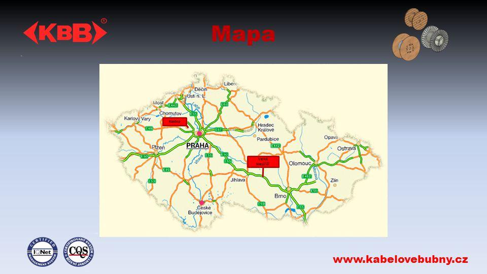 Mapa www.kabelovebubny.cz Kladno Velké Meziříčí