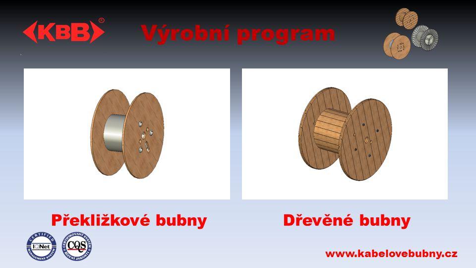 Výrobní program Překližkové bubnyDřevěné bubny www.kabelovebubny.cz