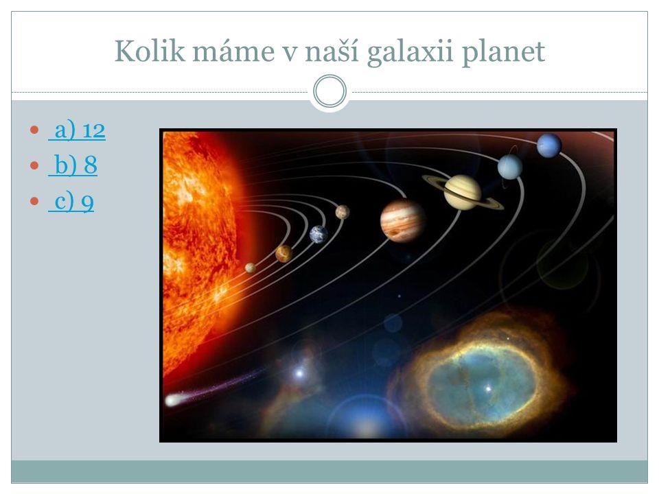 Název planety Merkur Jupiter Mars Venuše Země Saturn Uran Neptun