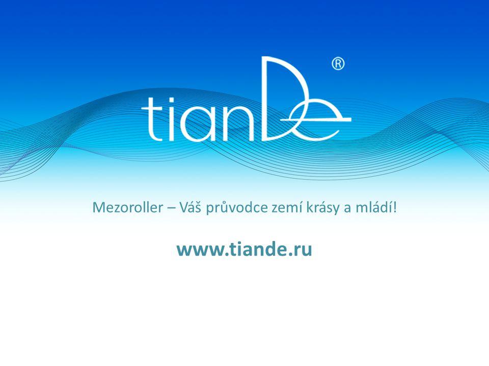 Mezoroller – Váš průvodce zemí krásy a mládí! www.tiande.ru