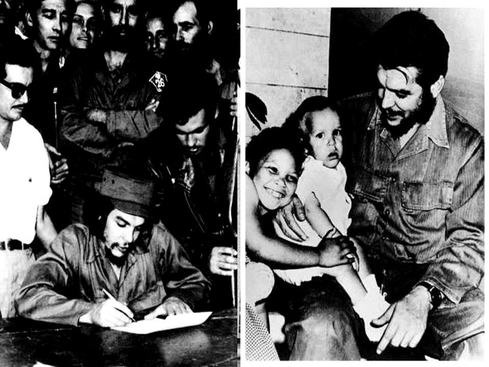 Do čela nové revoluční vlády byl postaven Fidel Castro, který s Che Guevarou a Camilem Cienfuegosem tvořili nejvyšší triumvirát kubánské revoluce. Che