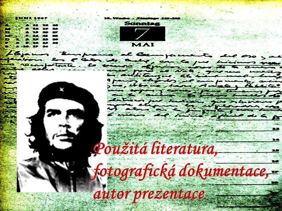 Použitá literatura, fotografická dokumentace, autor prezentace