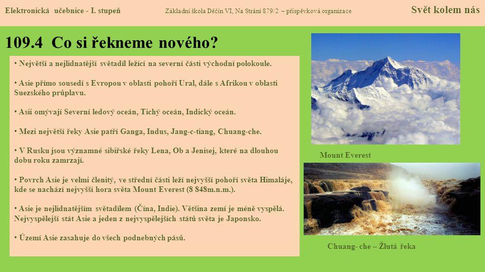 109.5 Procvičení a příklady Elektronická učebnice - I.