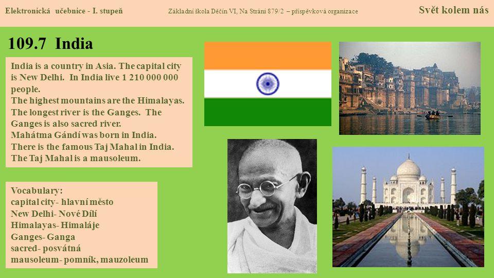 109.7 India Elektronická učebnice - I.