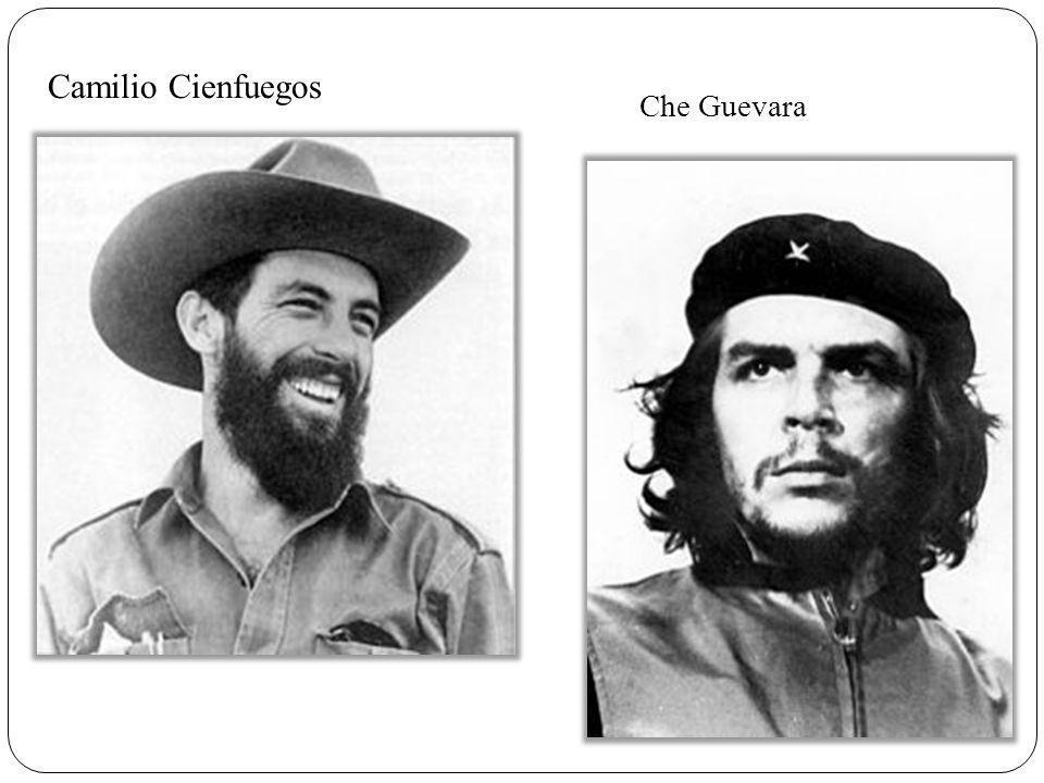Camilio Cienfuegos Che Guevara