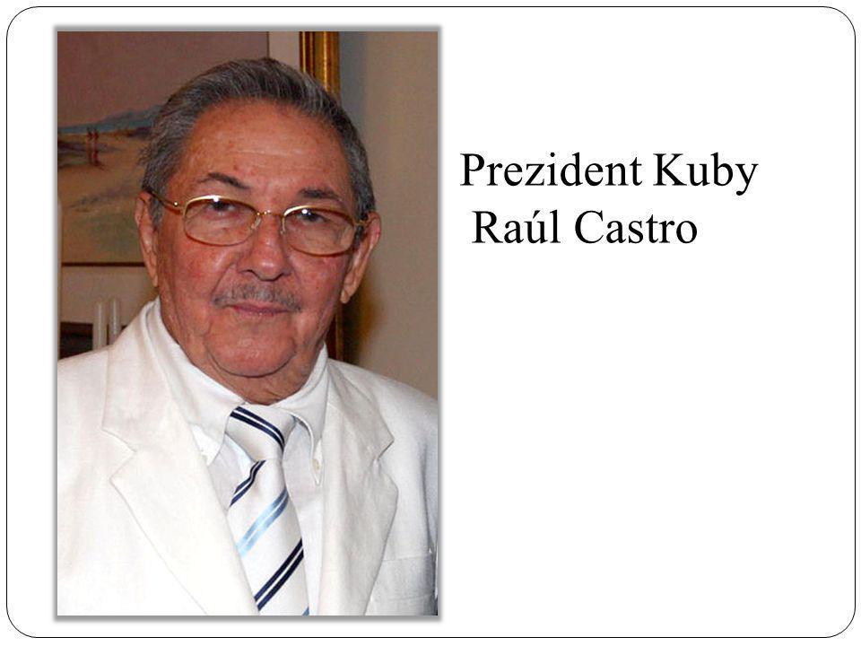 Prezident Kuby Raúl Castro