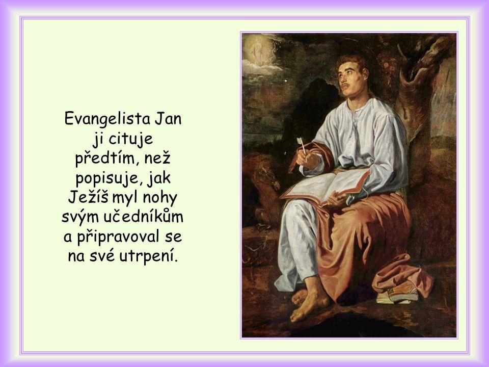 Víš, kde je v evangeliu uvedena tato věta?