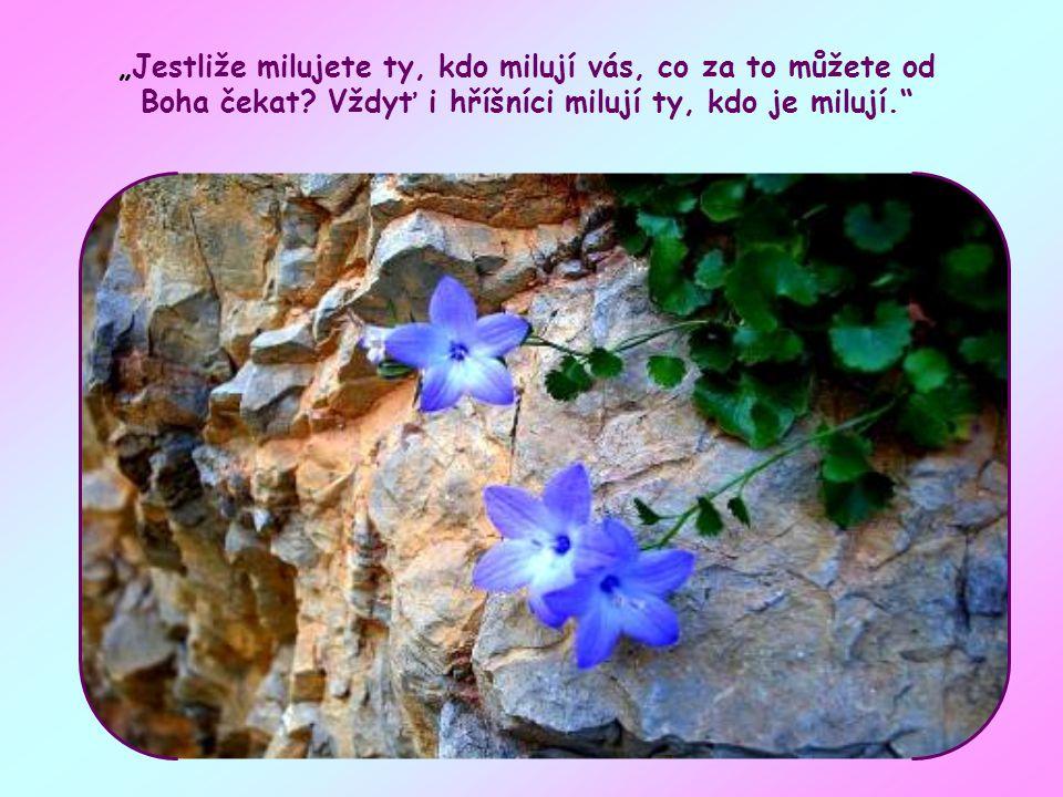 V tomto verši Ježíš volá své učedníky, aby napodobovali Boha Otce v lásce.