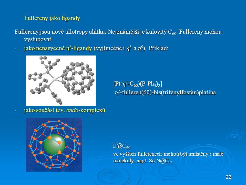 23 Doporučení názvoslovné komise Podle názvoslovných pravidel pro koordinační sloučeniny je možno pojmenovat v principu každou sloučeninu vzniklou adicí jednoho nebo více iontů či molekul k jinému iontu (iontům), tedy i mnohé známé jednoduché anorganické sloučeniny.