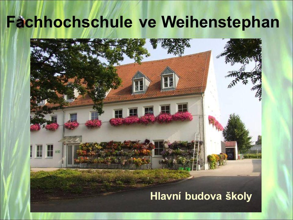 Fachhochschule ve Weihenstephan Hlavní budova školy