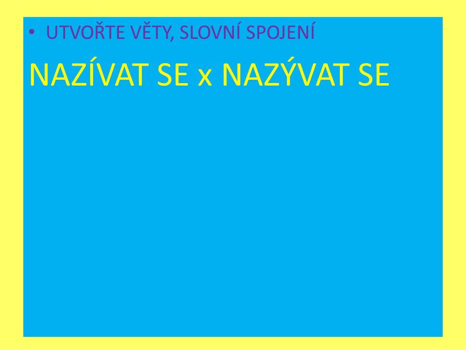 POUŽITÁ LITERATURA MARTINCOVÁ, Olga a kol.Pravidla českého pravopisu.