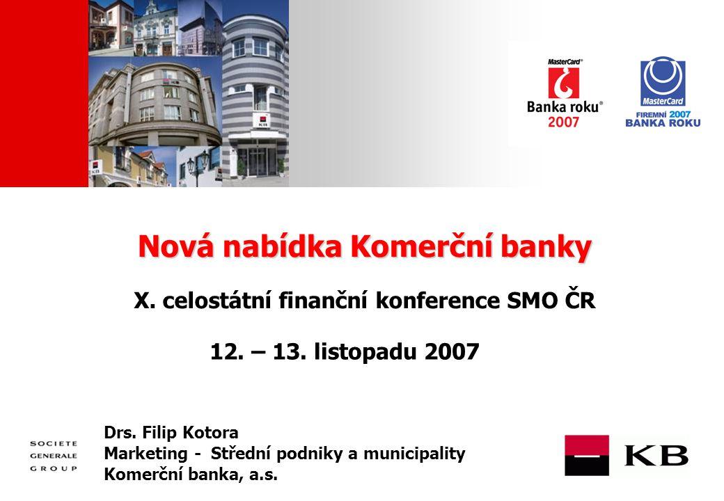 JJ Mois Année Nová nabídka Komerční banky Nová nabídka Komerční banky X.