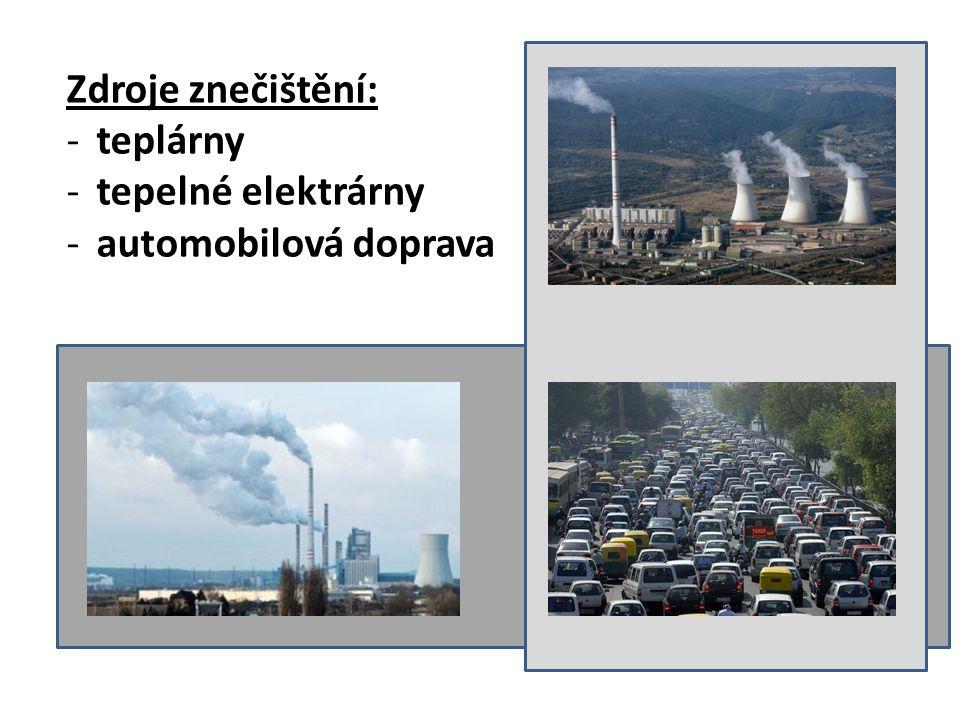 Zlepšení -čistá elektrická energie -katalyzátory u automobilů – zmenšují množství škodlivých plynů ze spalovacích motorů -průmyslové závody – vlastní čistící zařízení