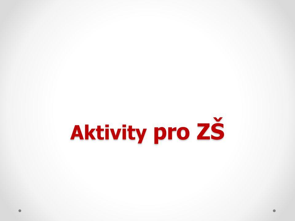 Aktivity pro ZŠ