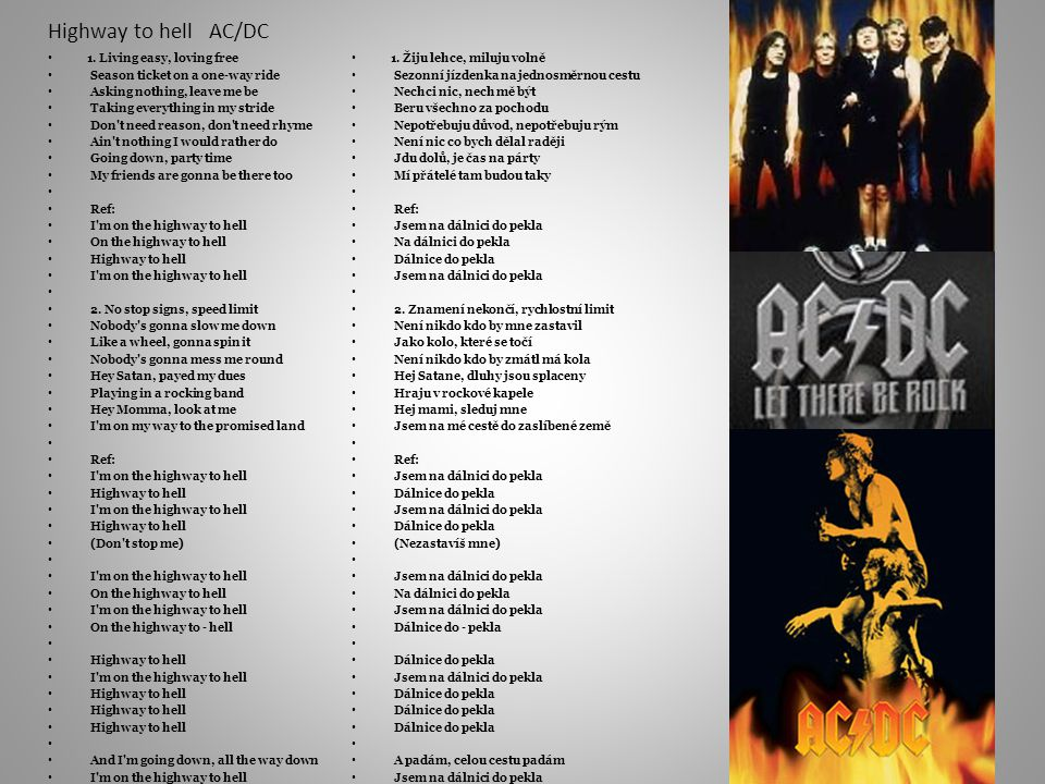 Highway to hell AC/DC 1.