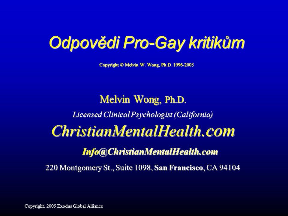 Melvin Wong, Ph.D.