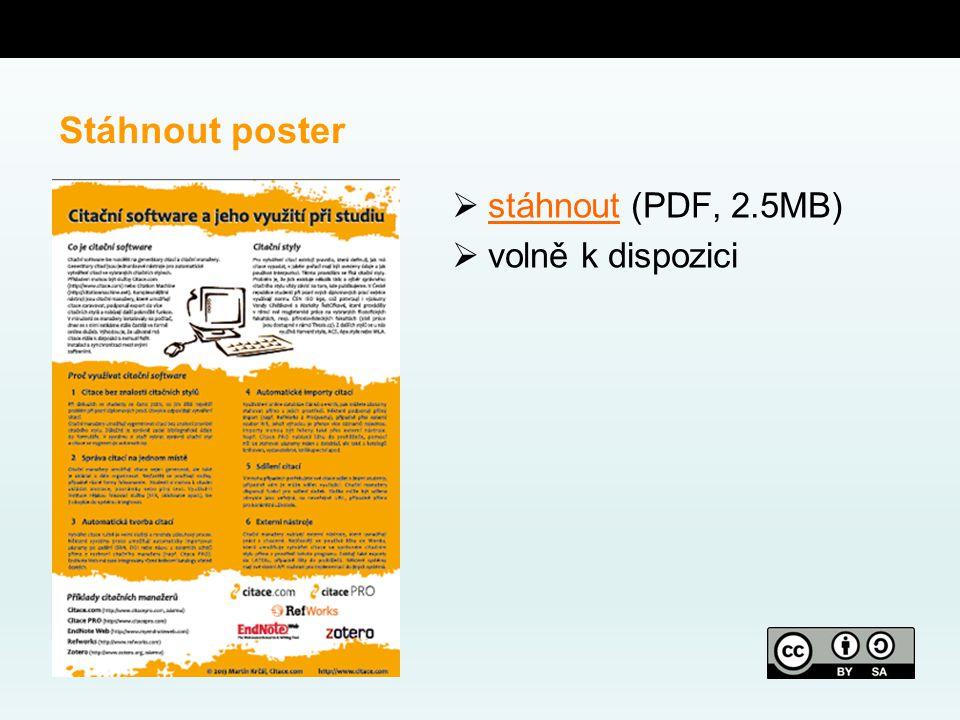 Stáhnout poster  stáhnout (PDF, 2.5MB) stáhnout  volně k dispozici