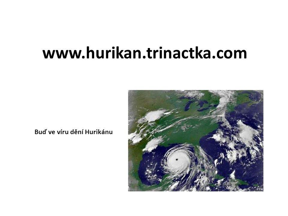 www.hurikan.trinactka.com Buď ve víru dění Hurikánu