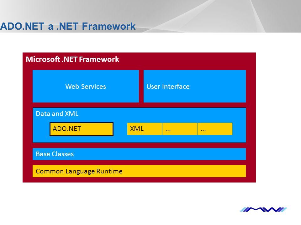 YOUR LOGO Príklad použitia DataView SqlDataAdapter adapter = new SqlDataAdapter( select * from zamestnanci , server=localhost;database=mojeDatabaze;uid=sa;pwd= ); DataSetds= new DataSet(); adapter.Fill(ds, zamestnanci ); DataView pohled = new DataView(ds.Tables[ zamestnanci ]); pohled.Sort = jmeno ; pohled.RowFilter = plat > 20000 ; DataGrid.DataSource = pohled; DataGrid.DataBind(); //podla zmeny pohled.RowStateFilter = DataViewRowState.Deleted;