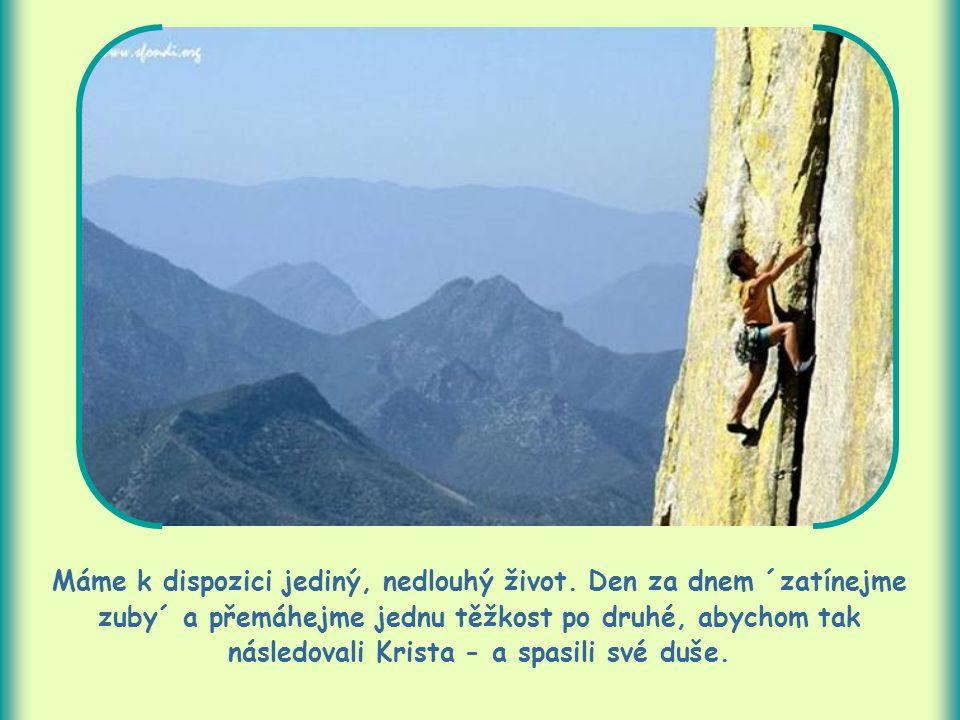 Vytrvalost je mimo jiné také nakažlivá.Kdo je vytrvalý, povzbuzuje tím i druhé k důslednosti.