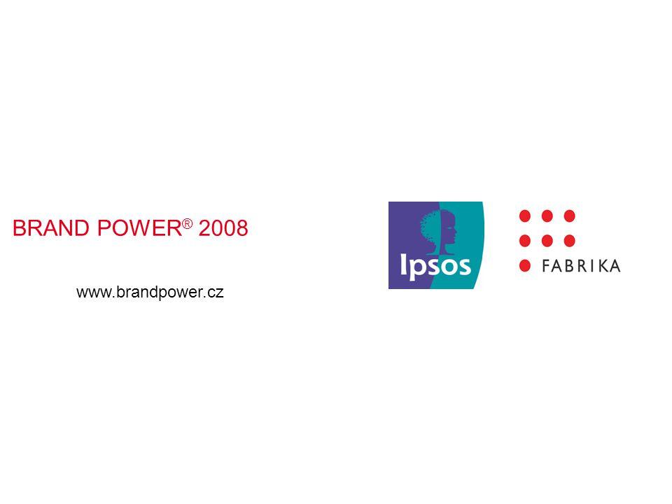 BRAND POWER ® 2008 www.brandpower.cz