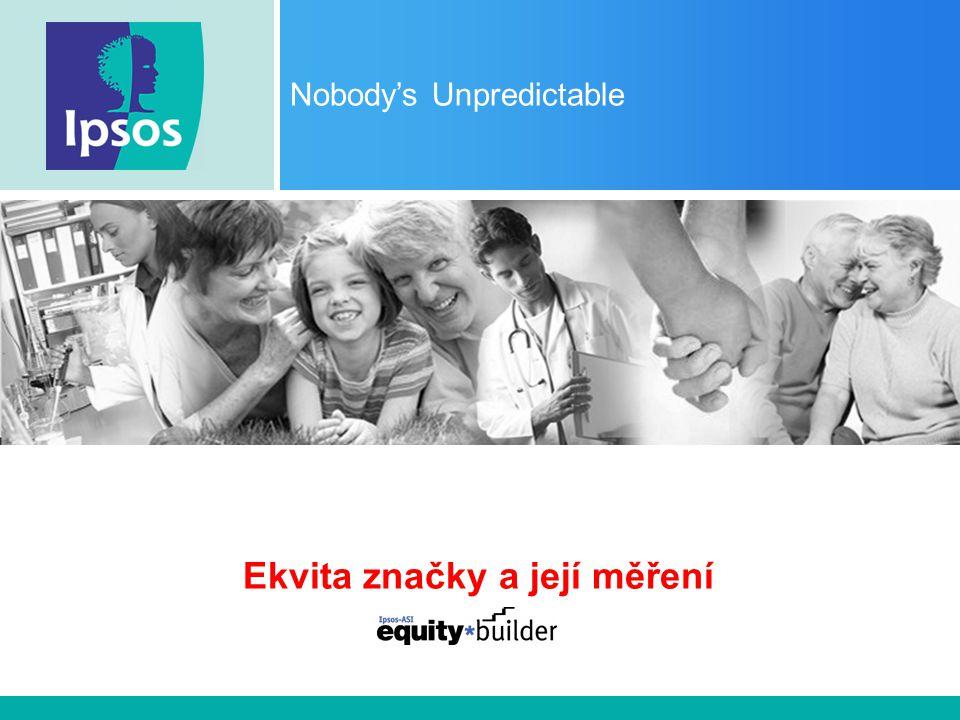Nobody's Unpredictable Ekvita značky a její měření