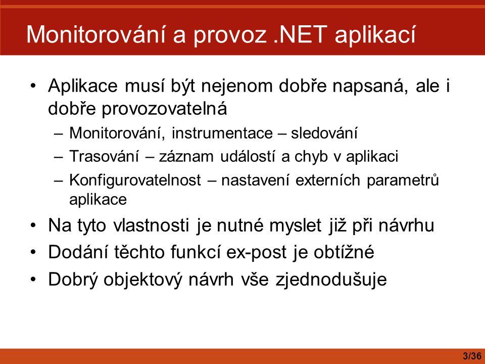 Reference Monitoring in.NET Distributed Application Design http://msdn.microsoft.com/library/default.asp?url=/library/en- us/dnbda/html/monitordotnet.asp http://msdn.microsoft.com/library/default.asp?url=/library/en- us/dnbda/html/monitordotnet.asp Operating.NET-based Applications http://www.microsoft.com/technet/treeview/default.asp?url=/technet/it solutions/net/maintain/opnetapp/default.asp http://www.microsoft.com/technet/treeview/default.asp?url=/technet/it solutions/net/maintain/opnetapp/default.asp MOM 2005 http://www.microsoft.com/mom/default.mspx http://www.microsoft.com/mom/default.mspx WMI Server Explorer Extension http://msdn.microsoft.com/library/default.asp?url=/library/en- us/wmise/wmioriManagingWindowsManagementInstrumentationWMI DataEventsWithServerExplorer.asp http://msdn.microsoft.com/library/default.asp?url=/library/en- us/wmise/wmioriManagingWindowsManagementInstrumentationWMI DataEventsWithServerExplorer.asp WMI Tools http://www.microsoft.com/downloads/details.aspx?familyid=6430f853- 1120-48db-8cc5-f2abdc3ed314&displaylang=en http://www.microsoft.com/downloads/details.aspx?familyid=6430f853- 1120-48db-8cc5-f2abdc3ed314&displaylang=en 34/36