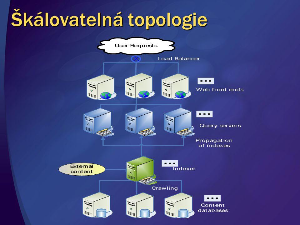 Škálovatelná topologie