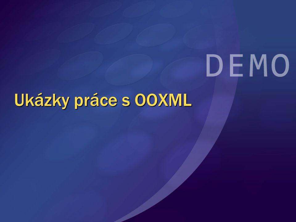 Ukázky práce s OOXML
