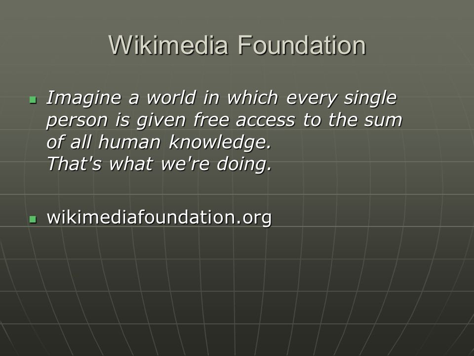 Wiki A wiki is a type of website that allows visitors to easily add, remove, or otherwise edit and change some available content, sometimes without the need for registration.