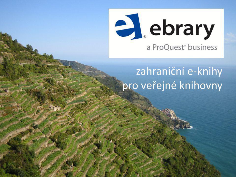 zahraniční e-knihy pro veřejné knihovny