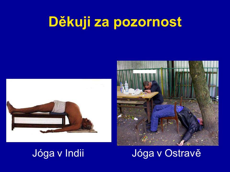 Děkuji za pozornost Jóga v IndiiJóga v Ostravě