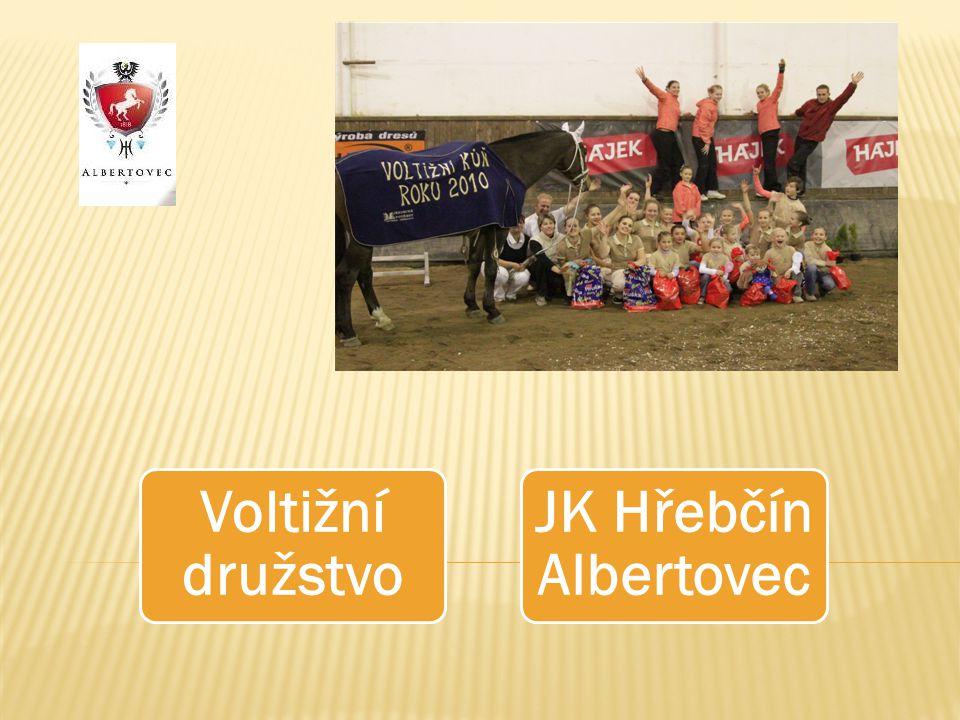 Voltižní družstvo JK Hřebčín Albertovec