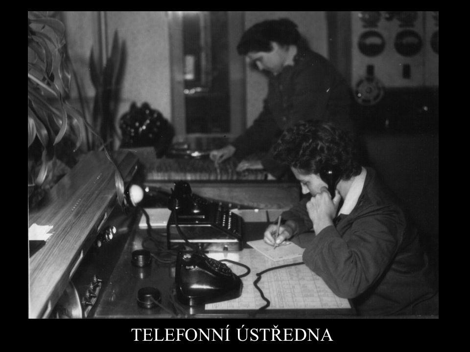 TELEFONNÍ ÚSTŘEDNA