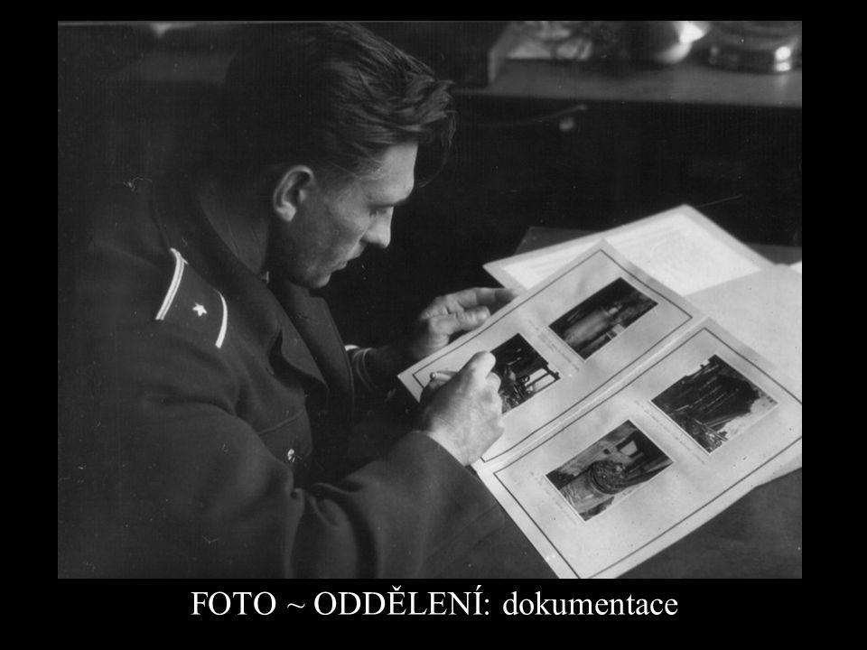 FOTO ~ ODDĚLENÍ: dokumentace