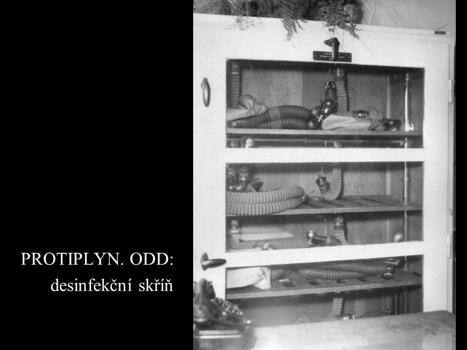PROTIPLYN. ODD: desinfekční skříň
