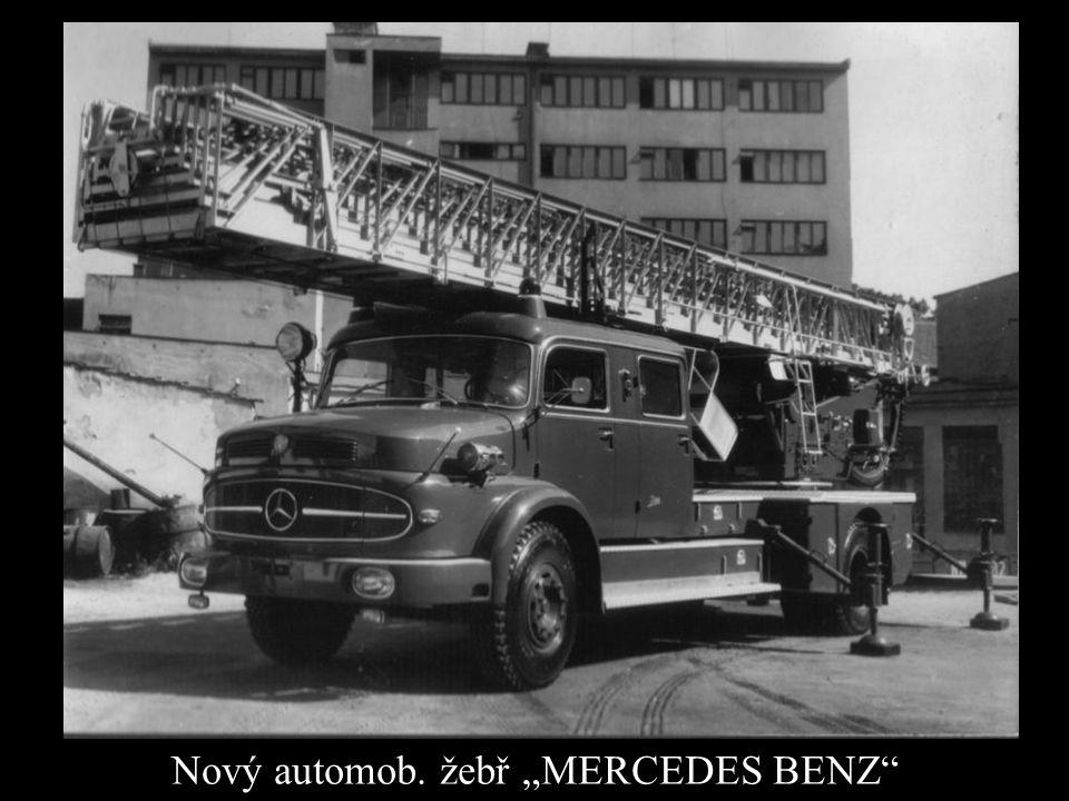 "Nový automob. žebř ""MERCEDES BENZ"""