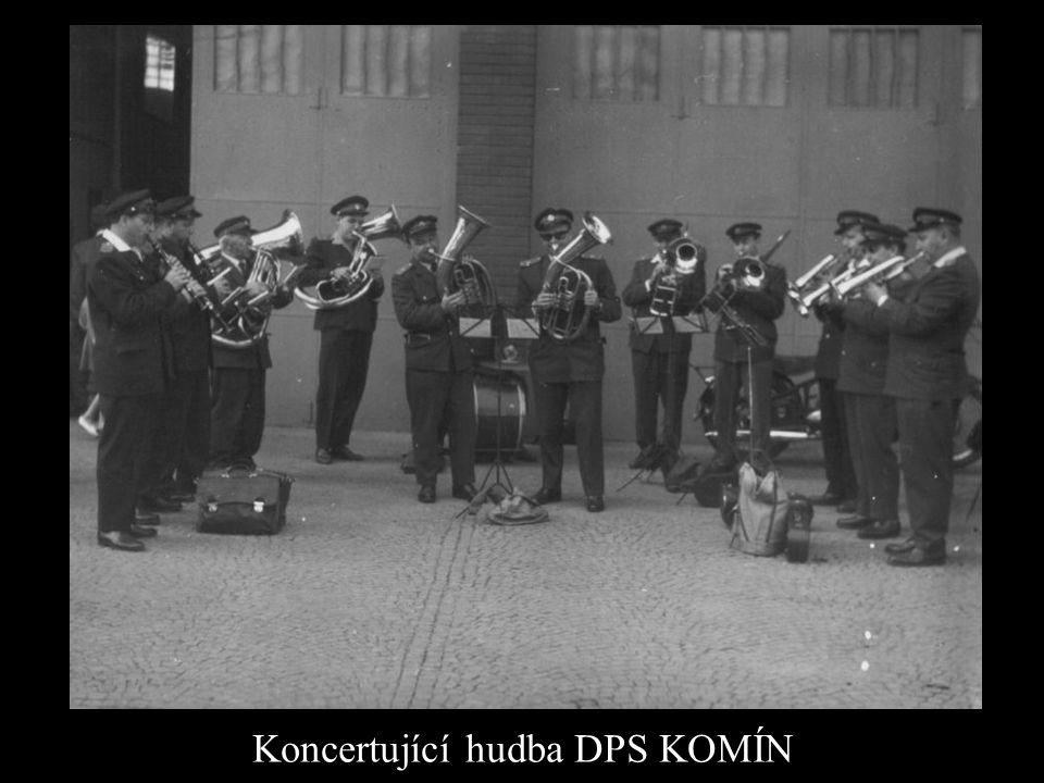 Koncertující hudba DPS KOMÍN