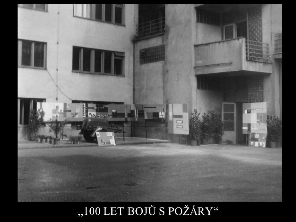 """""""100 LET BOJŮ S POŽÁRY"""""""