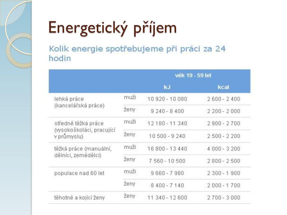Energetický příjem