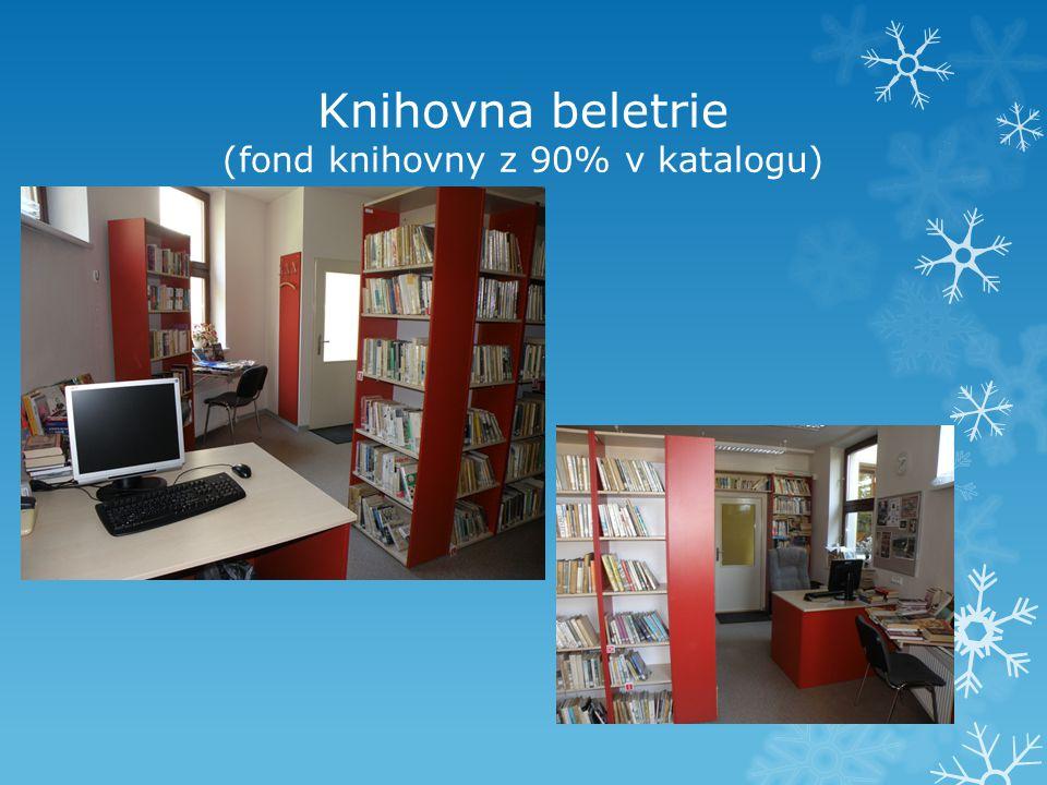 Knihovna beletrie (fond knihovny z 90% v katalogu)