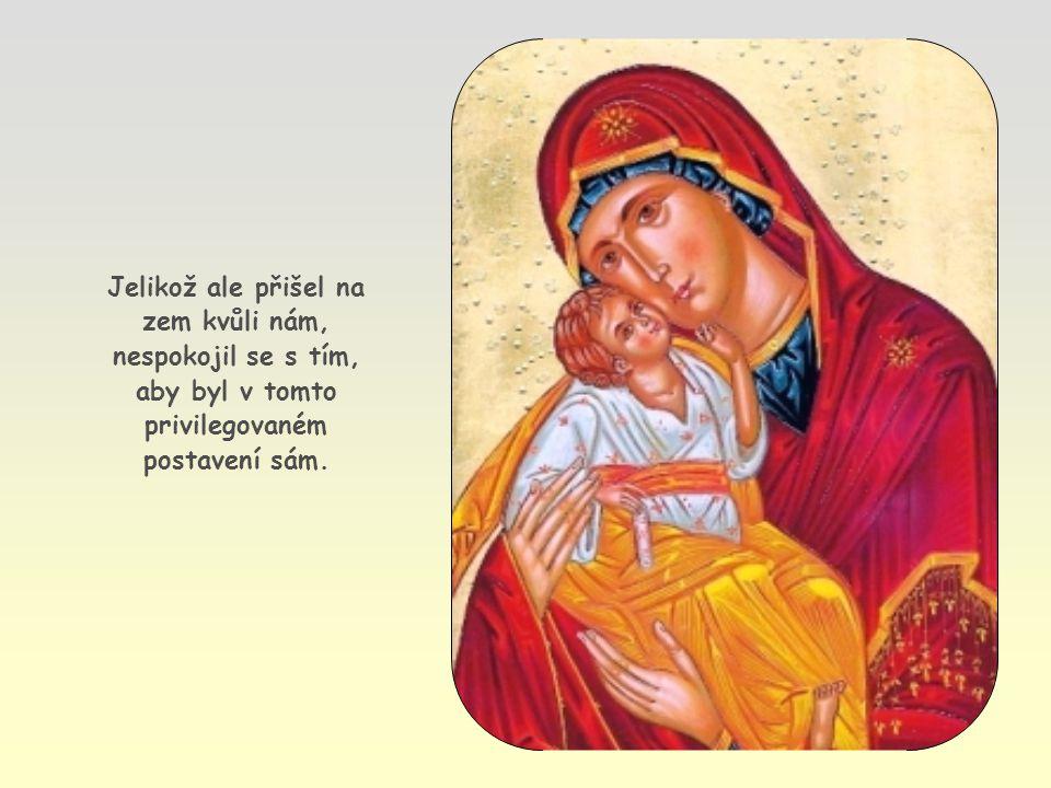Stačí hledět na Ježíše, Božího syna, a na jeho vztah s Otcem.