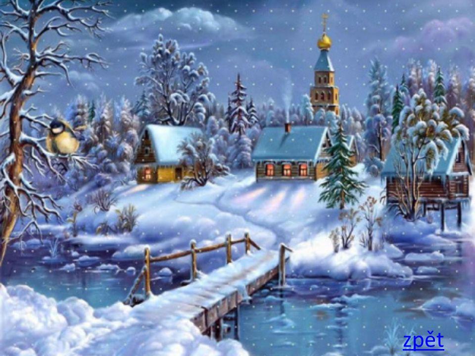 zpět Dárky leží pod stromečkem a já si zpívám svou Venku betlém hezky svítí a já procházím tmou Já se vracím pěkně domů z vánočního nákupu Táta doma chystá stromek brácha bouchá do stolu.