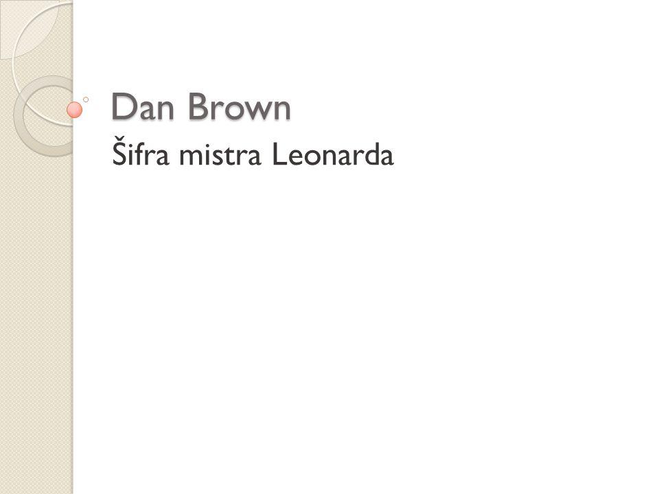 Dan Brown Šifra mistra Leonarda